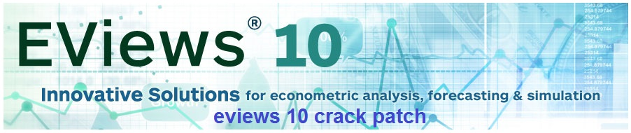 eviews 10 crack patch