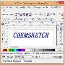 Chemsketch download free latest version