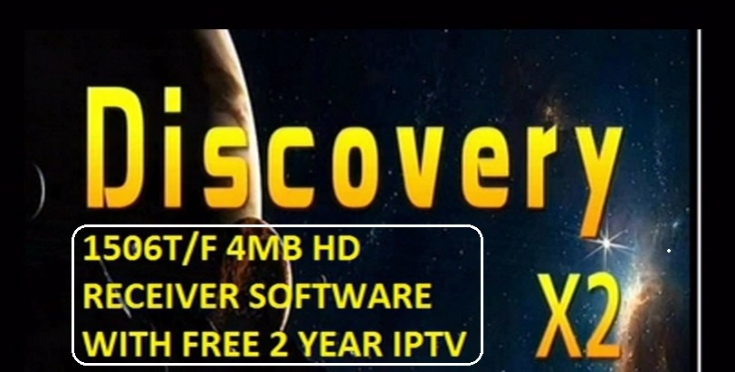 DISCOVERY X2 1506T HD RECEIVER SOFTWARE