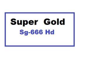 Super Gold Sg-666 Hd