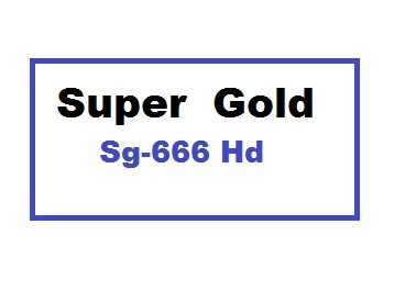 Super Gold Sg-666 Hd Receiver Auto Roll Powervu Key New Software