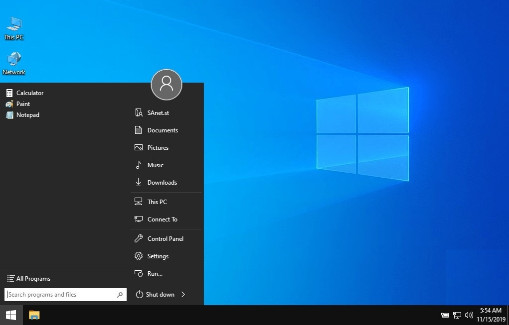 Windows 10 Pro 19H2 1909 x64 Lite