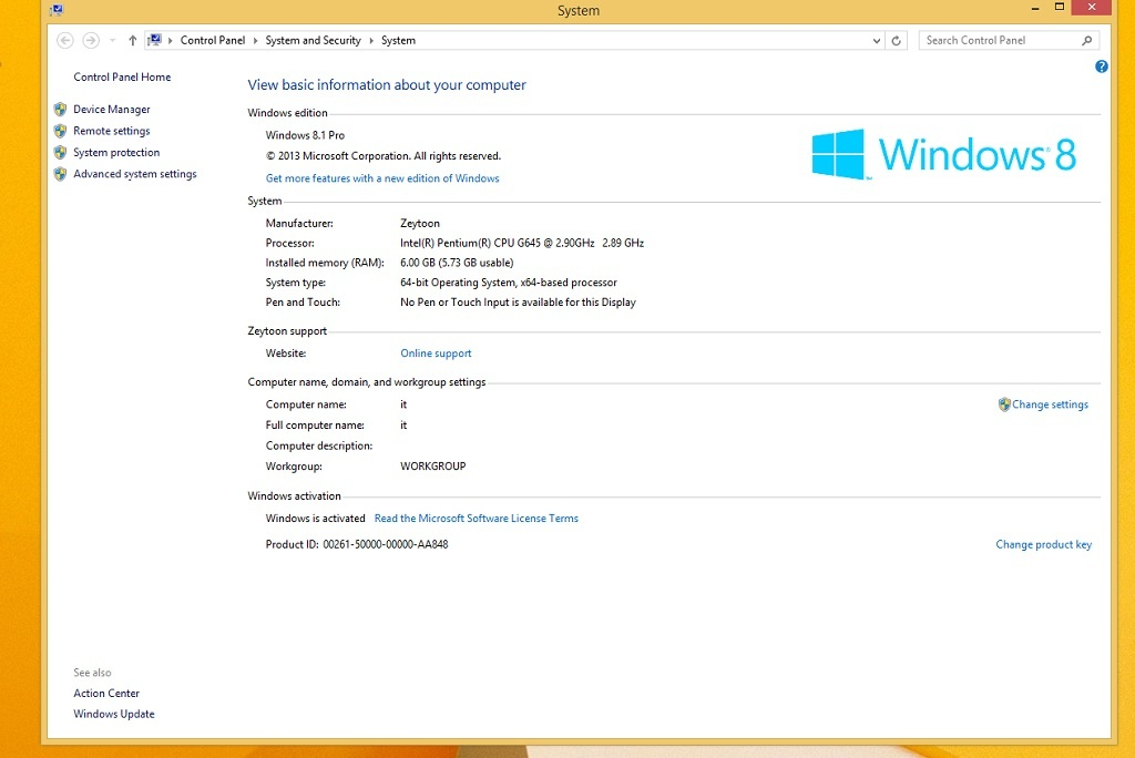 Windows 8.1 Pro X64 OEM ESD Review New version