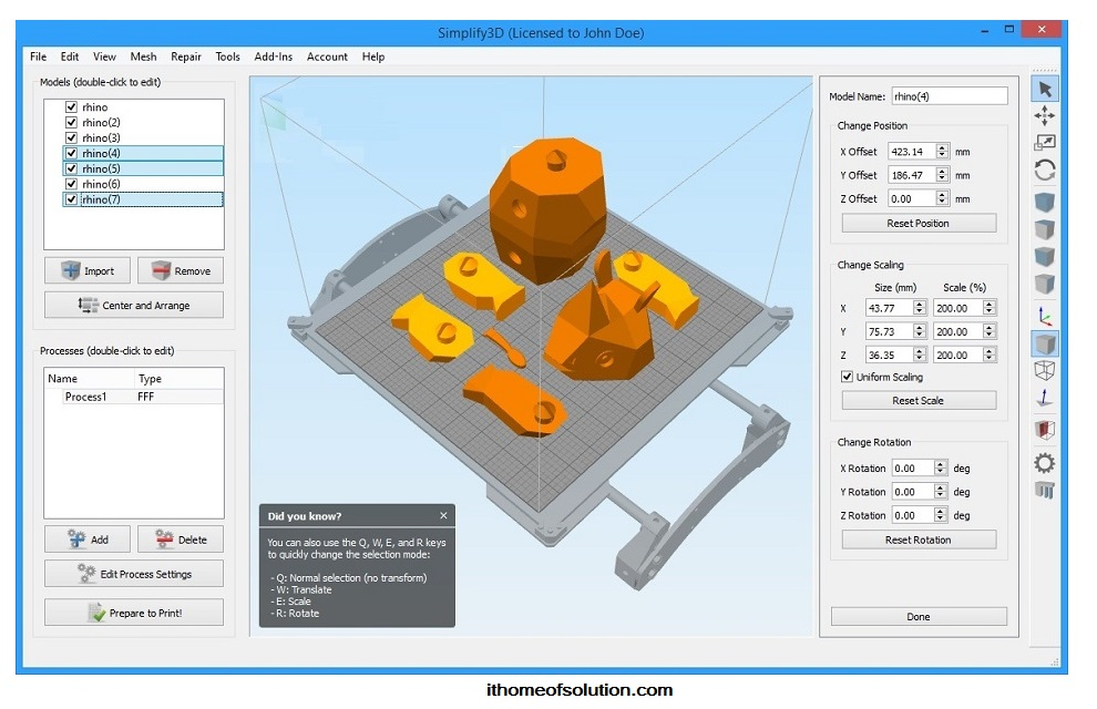 Download Simplify 3D 3.1