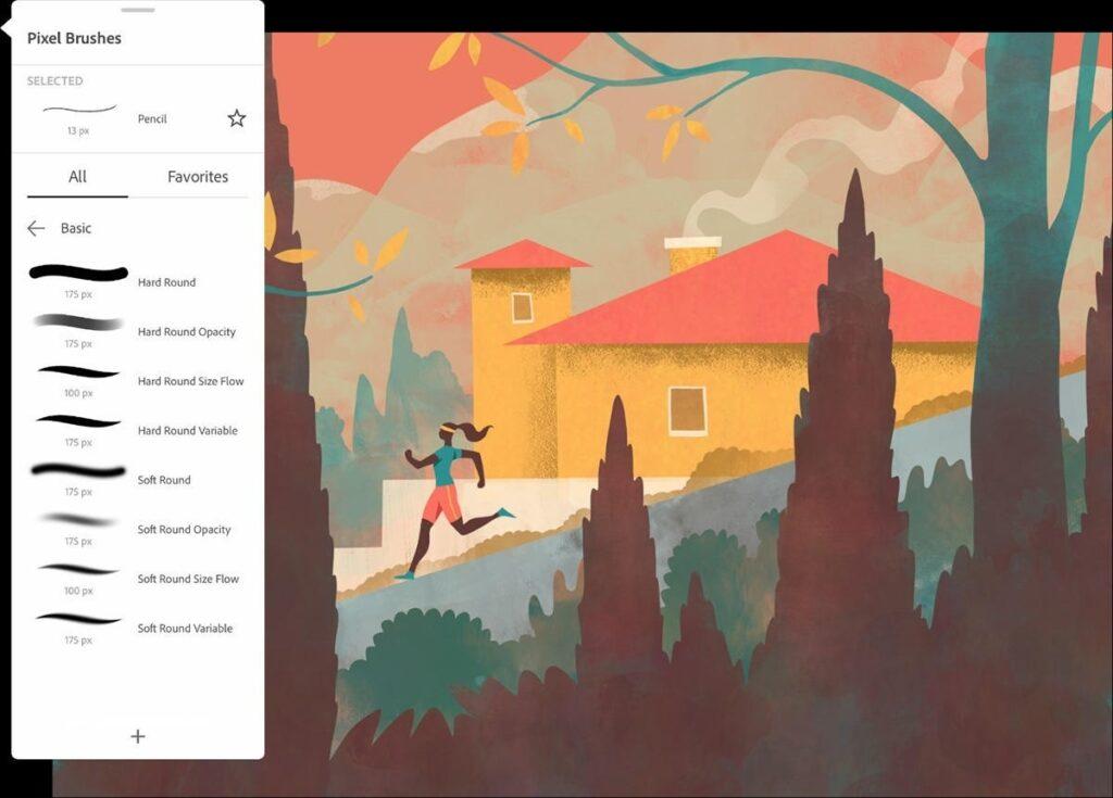 Free download for Windows PC Adobe Fresco 1.3