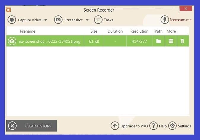 Download offline installer IceCream Screen Recorder Pro 6.05