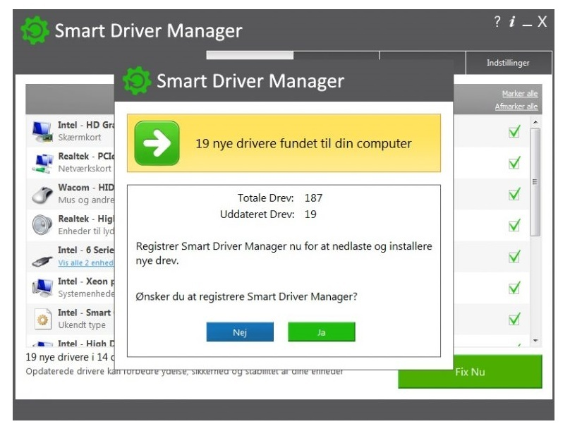 System Requirements for Smart Driver Manager 5.2.