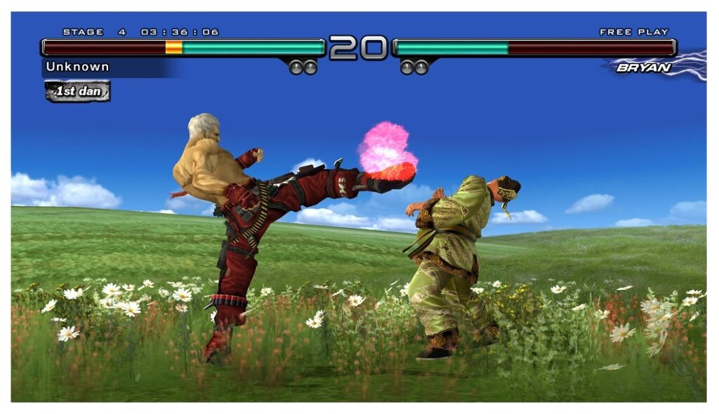 Features of the PC game Tekken 5